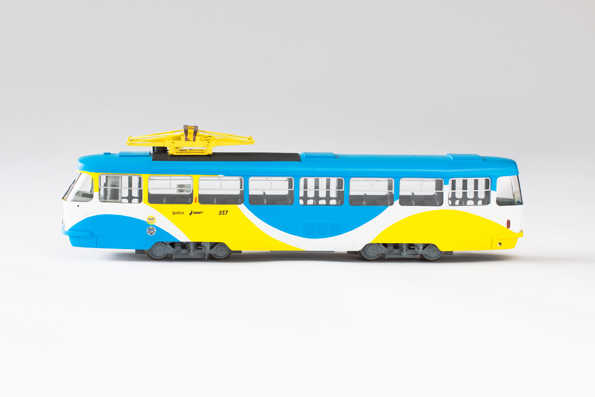 Custom T3 model in Kosice color scheme