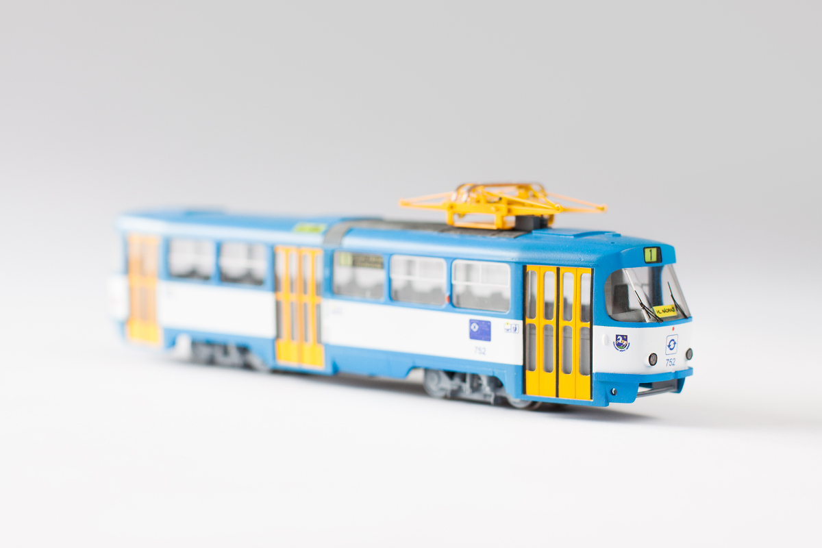 Custom T3 model in Ostrava color scheme