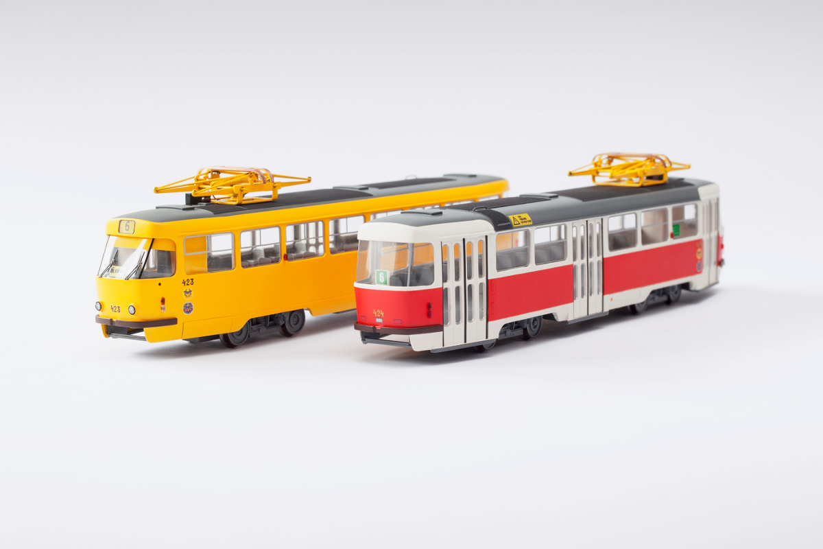 Custom T3 model in old Kosice color scheme