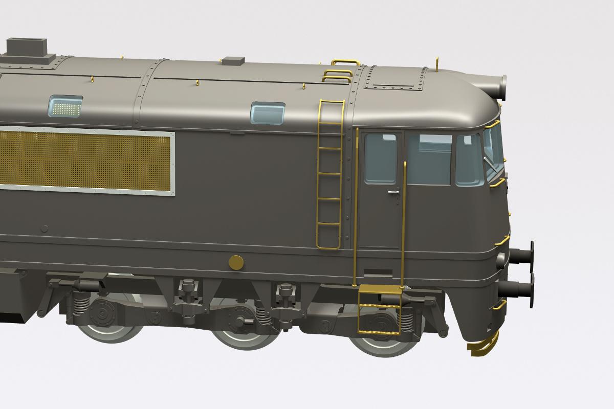 T678 / T679 3D model